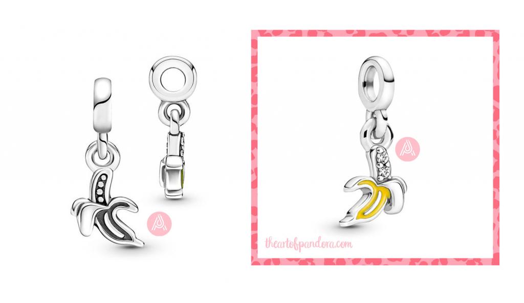 799673C01 Pandora Me Cool Banana Mini Dangle