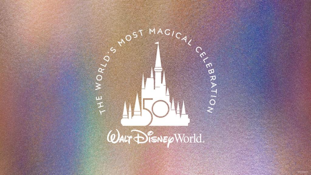 Pandora Disney Parks Mickey 50 Years Anniversary Charm (769597C01)