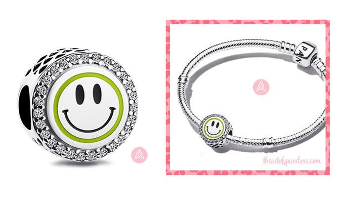 792016CZ_E012 Pandora Shining smiley charm
